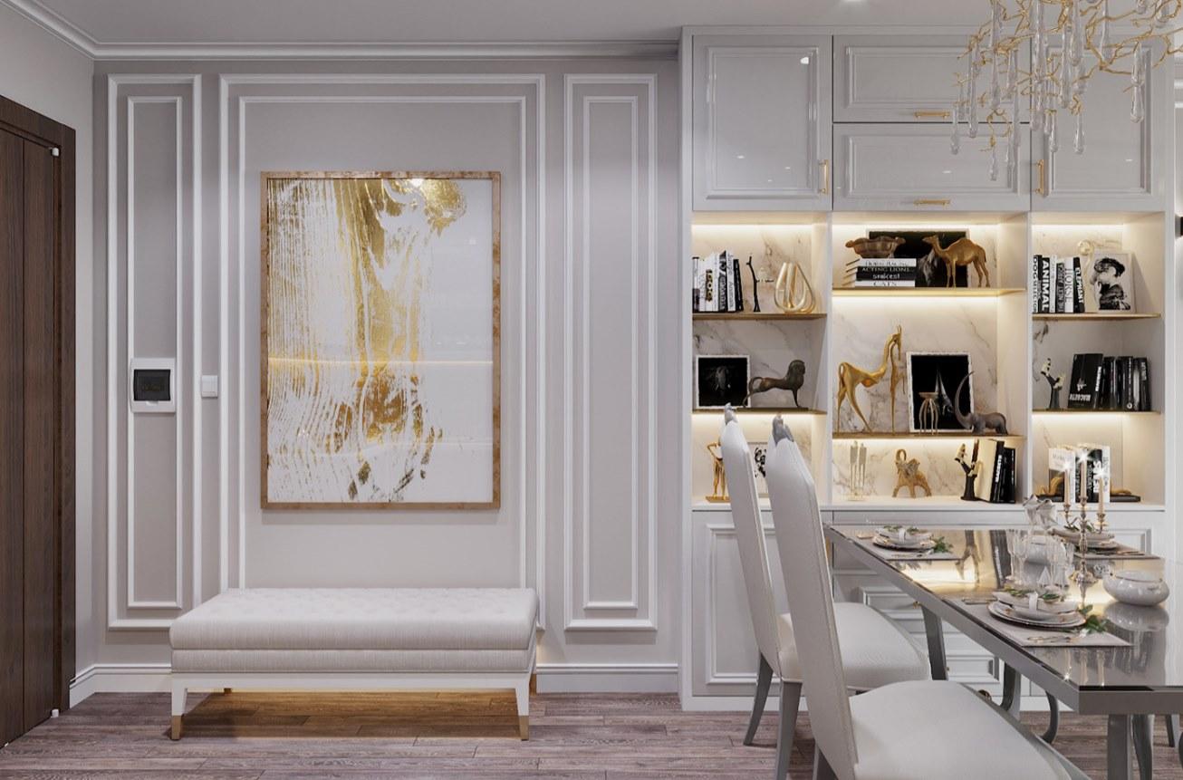 Đơn vị Thiết kế nội thất chung cư 2021 phong cách luxury