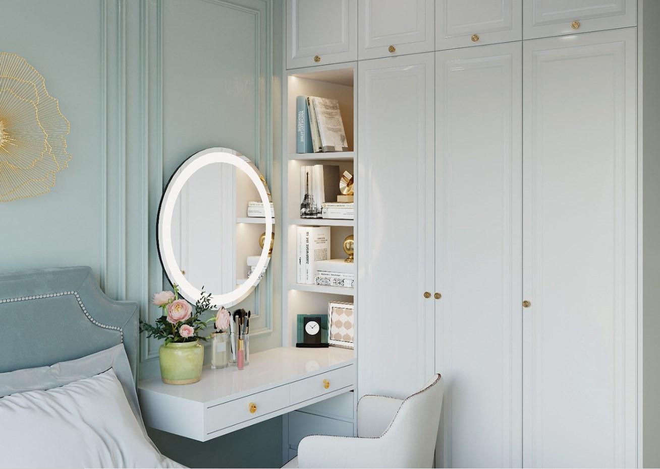 Thiết kế nội thất phòng ngủ chung cư 2021