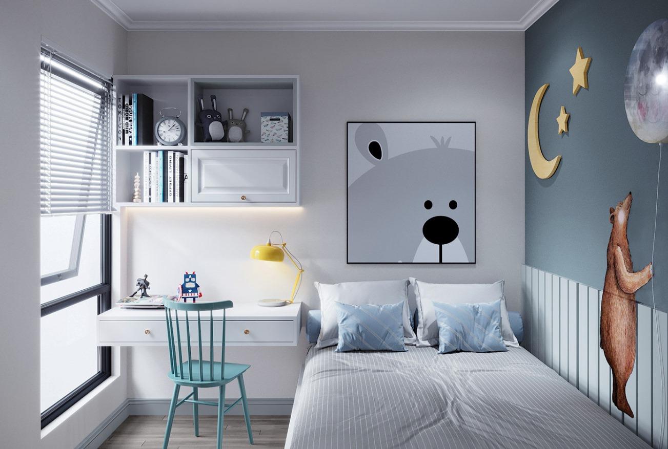 Thiết kế phòng ngủ cho bé 2021